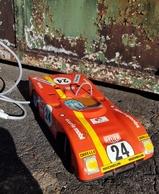 Rare Voiture  Filoguidée Années 70 De La Marque Mont Blanc - Toy Memorabilia