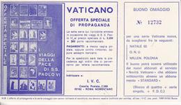 Vaticano - Buono Omaggio - Vatican