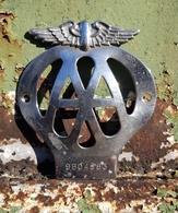 Rare Plaque Club Automobile - Voitures
