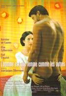 """Carte Postale """"Cart'Com"""" (1998) - Affiche, Film : L'homme Est Une Femme Comme Les Autres (A. De Caunes - E. Zylberstein) - Manifesti Su Carta"""