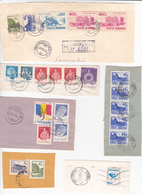 Romania , Roumanie  , Architecture , Lot Of Fragments Of Covers - 1948-.... Repúblicas