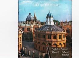 """OPUSCOLO ILLUSTRATO 1973 CITY OF OXFORD - SOUVENIR BOOK - BUCH - LIVRE DE SOUVENIR - """"PRIDE OF BRITAIN"""" - PITKIN P. - Oggetti 'Ricordo Di'"""