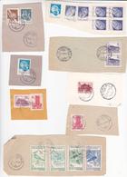 Romania , Roumanie  , Architecture , Handicraft , Birds , Lot Of Fragments Of Covers - 1948-.... Republiken