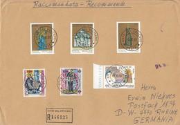 Vaticano - 1992 - Raccomandata Per L'estero - Vatican