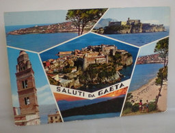 Gaeta Saluti Da Vedute (Latina)  Cartolina - Italia