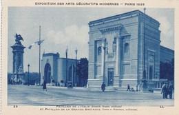 Exposition Des Arts Décoratifs Modernes Paris 1925, Pavillon D'Italie (pk56001) - Exposiciones