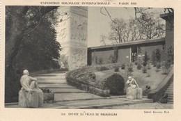 Exposition Coloniale Internationale, Paris 1931, Entrée Du Palais De Madagascar (pk56002) - Exposiciones