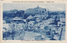Exposition Des Arts Décoratifs Modernes Paris 1925, Vue D'ensemble Vers Le Grand Palais (pk56003) - Exposiciones