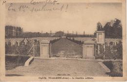 CPA Vic-sur-Aisne - Le Cimetière Militaire - Vic Sur Aisne
