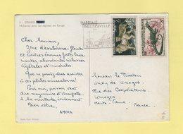 Amora - Carte Publicitaire - Congo - Pecherie Dans Les Rapides Du Congo - French Congo (1891-1960)