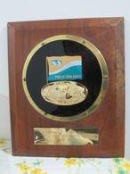 Port Of Long Beach Memorial Plaque To Sister City Split Yugoslavia 1974 - Souvenirs