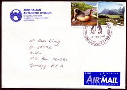 AAT, MACQUARIE 2011,Australian Antarctic Division-Cover With Letter + 3 Photos !! Look Scans !! 3.2-21 - Territorio Antartico Australiano (AAT)