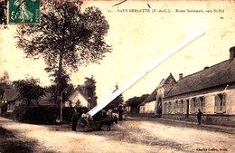SAVY-BERLETTE (P-de-C) - Route Nationale, Vers Saint-Pol - Francia