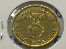 ALLEMAGNE 10  RAICHSPFENNIG 1939 A - [ 4] 1933-1945 : Third Reich