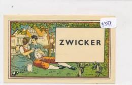 AC ( Etiquette De Vin )  - B3527 - Alsace -  Etiquette Signée H. Loux  Zwicker - Envoi Gratuit - Blancs