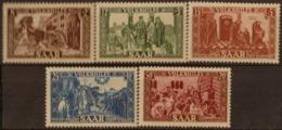 ALLEMAGNE SARRE (ZOF)- Au Profit Des Âœuvres Populaires 1950 - Franse Zone