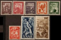 ALLEMAGNE SARRE (ZOF)- Industrie Et Paysages 1949 - Franse Zone