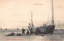 CPA BERCK-PLAGE - Préparatif De Goudronnage - Berck