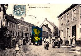 FREVENT - Rue De Saint-Pol - Belle Carte Très Animée - Frankrijk
