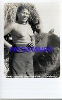 107067 PARAGUAY COSTUMES NATIVE WOMAN SEMI NUDE POSTAL POSTCARD - Paraguay