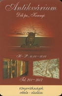 OWL * BIRD * ANIMAL * BOOK * MAP * ANTIQUE STORE * SECOND-HAND BOOKSHOP * BUDAPEST * CALENDAR * Kerengo 2007 * Hungary - Calendarios