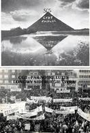 Syndicats. Lot De 2 Cpsm Lutte Pour Bassin De Longwy. CGT Et CFDT. Neuves. Envoi 0,86 €. - Syndicats