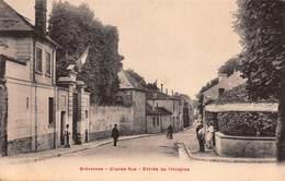 CPA Brévannes - Grande Rue - Entrée De L'Hospice - France