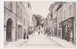 Cpa LONS LE SAUNIER  Jura Rue St Désiré - Lons Le Saunier