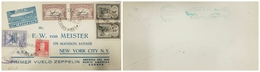 O) 1930 ARGENTINA. GRAFF ZEPPELIN, FIRST FLIGHT ZEPPELIN -PRIMER VUELO ZEPPELIN, OVERPRINTED  ZEPPELIN 1er VUELO 1930- S - Covers & Documents