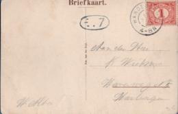 Netherlands, Grootrond Postmark Hardegarijp 13 SEP 15, Picturecard Vijversburg - Periode 1891-1948 (Wilhelmina)