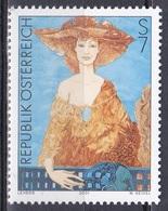 Österreich Austria 2001 Kunst Arts Kultur Culture Künstler Gemälde Paintings Fayence Helmut Leherb, Mi. 2355 ** - 1945-.... 2ème République