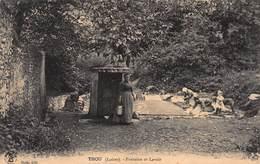 CPA THOU ( Loiret ) - Fontaine Et Lavoir - France