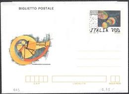 "BIGLIETTO POSTALE GALILEO GALILEI 1564 L. 700 - 1992 - CATALOGO FILAGRANO ""B63"" - NUOVO ** - Postwaardestukken"