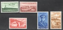 1938  15è Ann. De La République  Série Complète * - 1921-... République