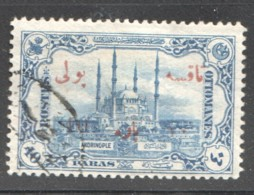 1914  Timbre Taxe  10 Paras Sur 40 Paras  Oblitéré - 1858-1921 Ottomaanse Rijk