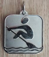Rowing Silver Medal Medaille Medaglia Slovenia Ex Yugoslavia - Remo
