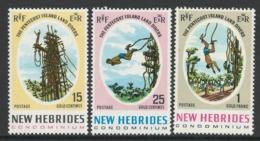 New Hebrides 1969 Pentecost Island Land Divers - MNH - I-32 - English Legend
