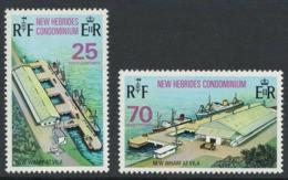 New Hebrides 1973 Opening Of New Wharf At Villa - MNH - I-47 - English Legend