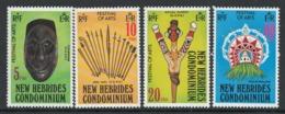 New Hebrides 1979 Arts Festival - MNH - I-73 - English Legend