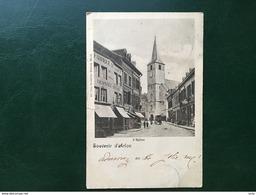 Aarlen-Arlon/-Grand'Rue-vue Sur Fabrique De Clous-l'église St.Martin-1900-cpa - Arlon