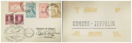 O) 1932 ARGENTINA, SERVICIO AEREO TRANSATLANTICO-CONDOR ZEPPELIN-FRIEDRICHSCHAFEN ZEPPELIN BEFORDERT, OVERPRINTE  GRAF Z - Covers & Documents