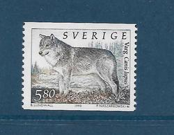 Timbres Neufs ** De Suède  N° 1740 Yt, Animaux, Faune, Loup, Canis Lupus - Unused Stamps