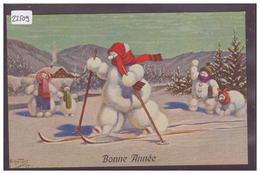 BONHOMME DE NEIGE - PAR ARTHUR THIELE - GDL  Nr 271/2 - TB - Thiele, Arthur