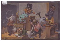 CHATS HUMANISES - PAR ARTHUR THIELE - T.S.N. SERIE 1572 - TB - Thiele, Arthur