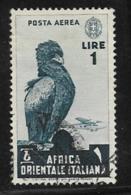 Italian East Africa Scott # C5  Used Eagle, 1938 - Italian Eastern Africa
