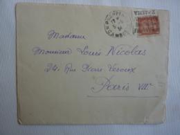 Timbre  INDOCHINE  Oblitération CACHET A DATE  DAGUIN FLAMME PNOMPENH Cambodge  FEV 2019 Abl7 - Indochine (1889-1945)
