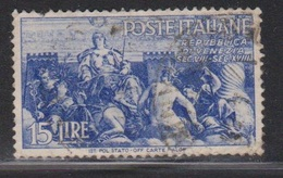 ITALY Scott # 484 Used - 1900-44 Vittorio Emanuele III