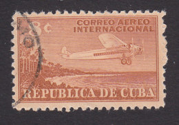 Cuba, Scott #C40, Used, Airplane, Issued 1948 - Luchtpost