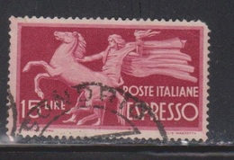 ITALY Scott # E21 Used - 1900-44 Vittorio Emanuele III
