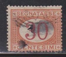 ITALY Scott # J8 Used - 1900-44 Vittorio Emanuele III